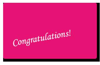 スクラムカード congratulation